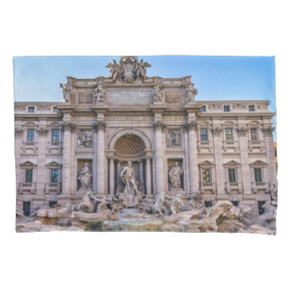 Trevi fountain, Roma, Italy Pillowcase