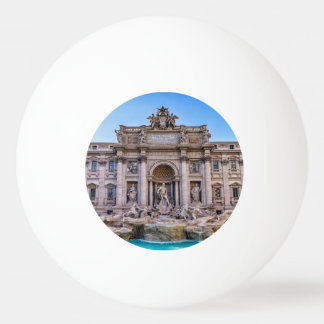 Trevi fountain, Roma, Italy Ping Pong Ball