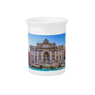 Trevi fountain, Roma, Italy Pitcher