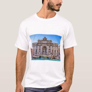 Trevi fountain, Roma, Italy T-Shirt