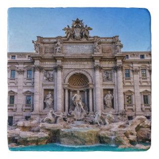 Trevi fountain, Roma, Italy Trivet