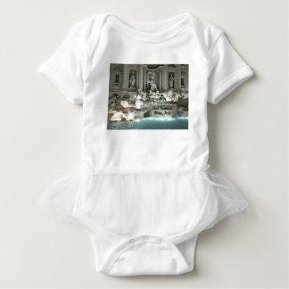 Trevi Fountain, Rome Italy Baby Bodysuit