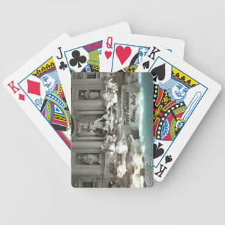 Trevi Fountain, Rome Italy Bicycle Playing Cards