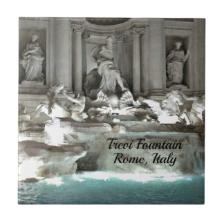 Trevi Fountain, Rome Italy Ceramic Tile