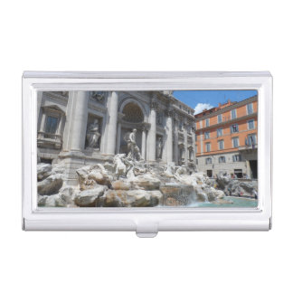 Trevi Fountain- Rome Business Card Cases