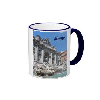 Trevi Fountain- Rome Ringer Mug