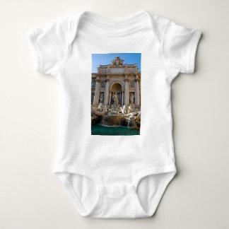 Trevi well in Rome - Italy Baby Bodysuit