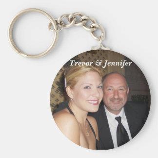 Trevor & Jennifer Key Ring