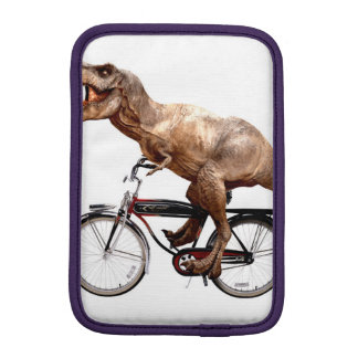 Trex riding bike iPad mini sleeve