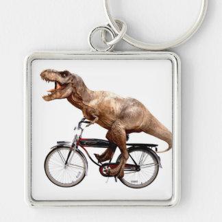 Trex riding bike key ring