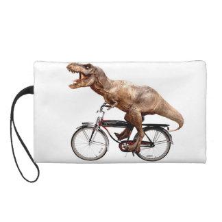 Trex riding bike wristlet