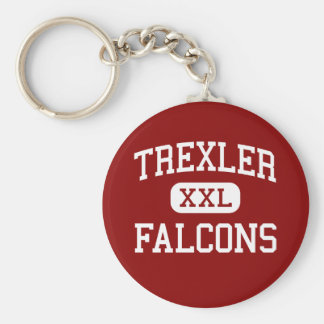 Trexler - Falcons - Middle - Richlands Basic Round Button Key Ring