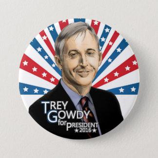 Trey Gowdy for President 2016 7.5 Cm Round Badge