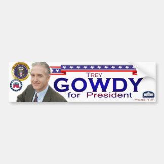 Trey Gowdy for President Bumper Sticker