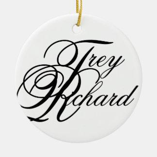 Trey Richard Ceramic Ornament