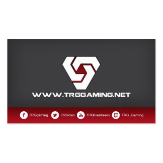 TRG Advertising Card Business Card