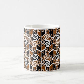 Tri Arrows (full)(burnt orange) Coffee Mug