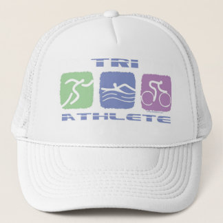 TRI ATHLETE TRUCKER HAT