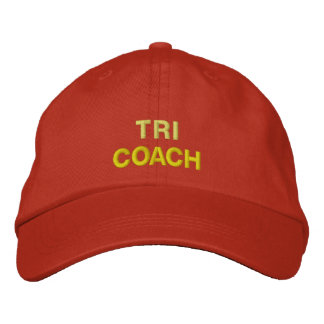 TRI COACH EMBROIDERED HAT