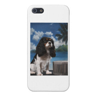 Tri color Cavalier King Charles Spaniel iPhone 5 Covers