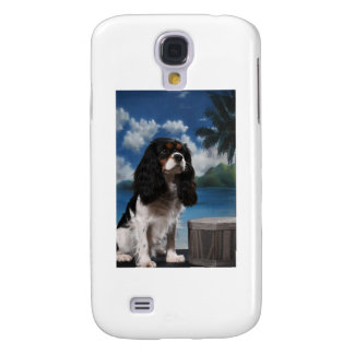 Tri color Cavalier King Charles Spaniel Samsung Galaxy S4 Cover