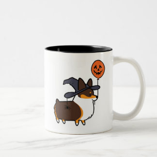 Tri-Color Corgi Halloween Mug | CorgiThings