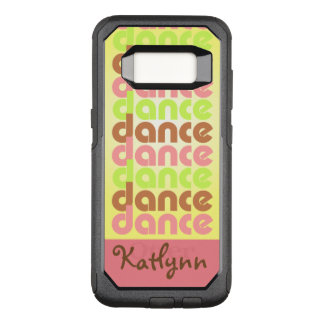 Tri-color Dance OtterBox Commuter Samsung Galaxy S8 Case