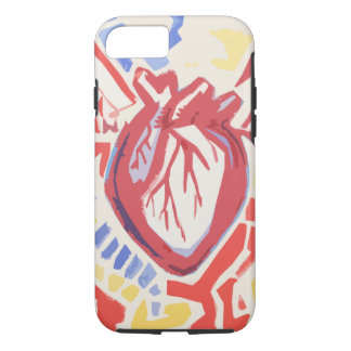 Tri-Color Heart Beats Phone Case