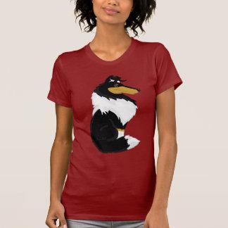 Tri-color Rough Collie Cartoon Women's Shirt