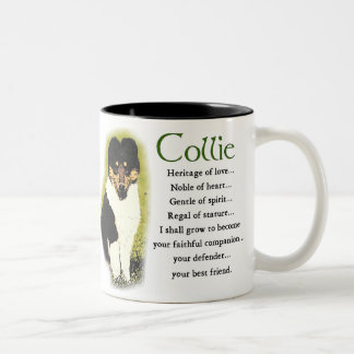 Tri Color Rough Collie Gifts Coffee Mugs