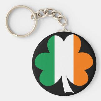 Tri-color Shamrock Keychains