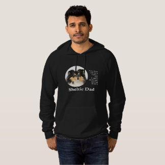 Tri-Color Sheltie Dad Hoodie