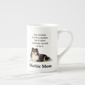 Tri-Color Sheltie Mom Mug
