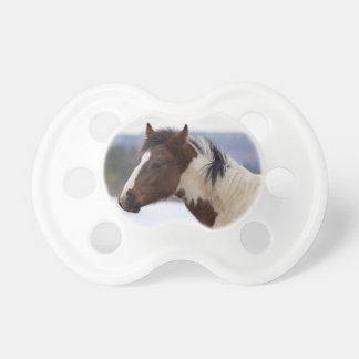 Tri-Colored Horse Pacifiers