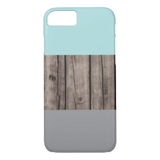 Tri-Colored Wood Texture iPhone 7 Case