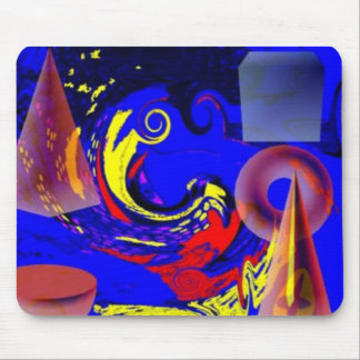 TRI-D-SHAPES UNIVERSES MOUSE PAD