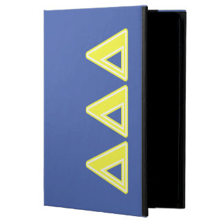 Tri Delta Yellow Letters Cover For iPad Air