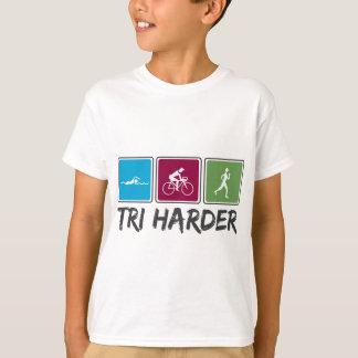 Tri Harder (Triathlon) T-Shirt