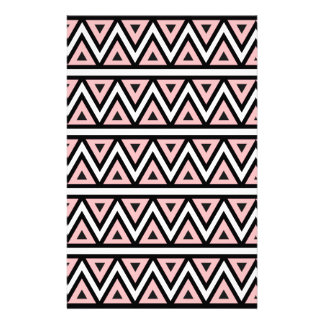 tri.jpgArt Design Patterns Modern classic tiles Personalized Stationery