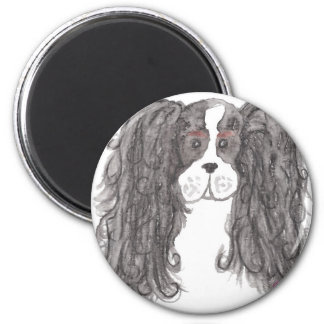 tri pup clean 6 cm round magnet