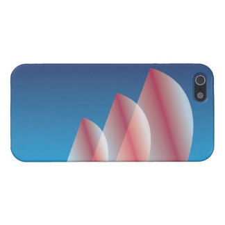 Tri-Sail Translucent Blue Sky Scarlet Sails iPhone 5/5S Covers