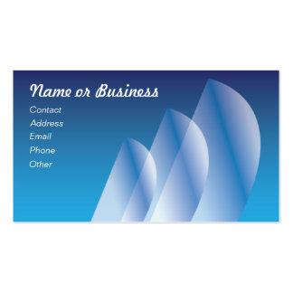 Tri-Sail_translucent sails Business Card Template
