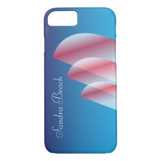 Tri-Sail Translucent Scarlet Sails personalized iPhone 7 Case