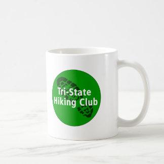 Tri-State Hiking Club - Circle Logo Classic White Coffee Mug