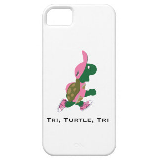 Tri, turtle, tri barely there iPhone 5 case