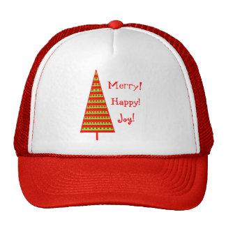 Tri Xmas Trees Trucker Hat