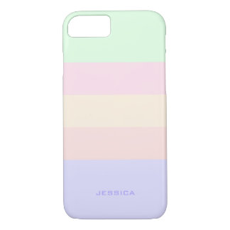 TRIADIC/ANALOGOUS PASTEL COLORS: Misty Rose iPhone 8/7 Case