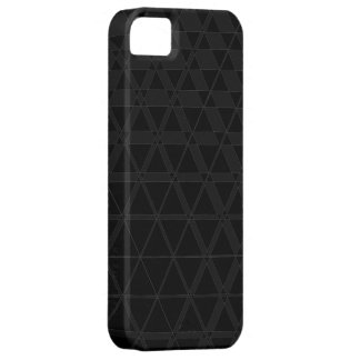 Triagonal Ebony (Charcoal) iPhone 5S Case