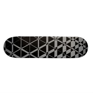 Triagonal Ebony (Grey) Skateboard Deck