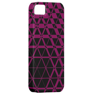Triagonal Ebony (Red-Violet) iPhone 5S Case